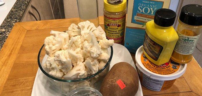 Cauliflower Cheesy Sauce - 2